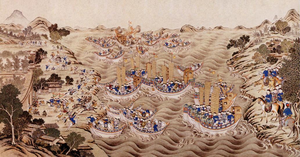 China Annam battle